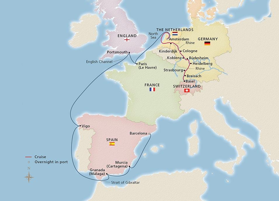 Christmas On The Rhine Cruise