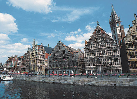 Old Town, Ghent, Belgium