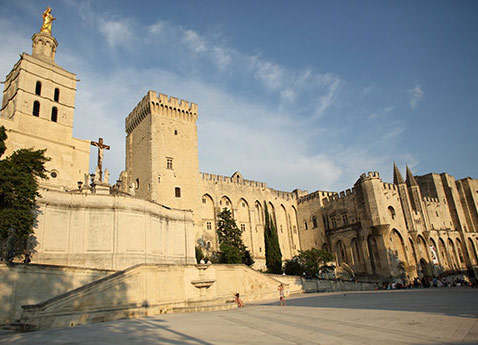 Palace of the Popes, Avignon, France