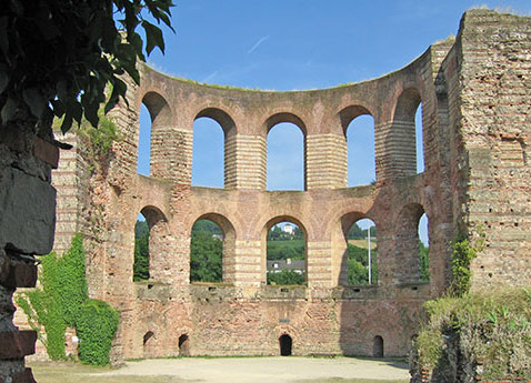 Imperial Baths, Trier, Germany