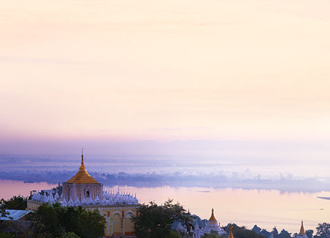 The Irrawaddy River