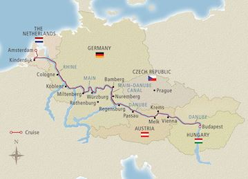 Map Of The Netherlands And Germany.Netherlands River Cruises Europe Viking River Cruises
