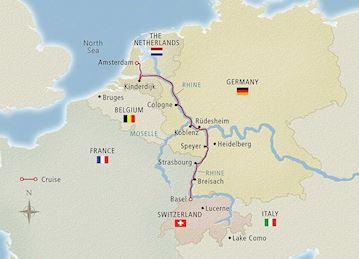 River Map Of France.France River Cruises Europe Viking River Cruises