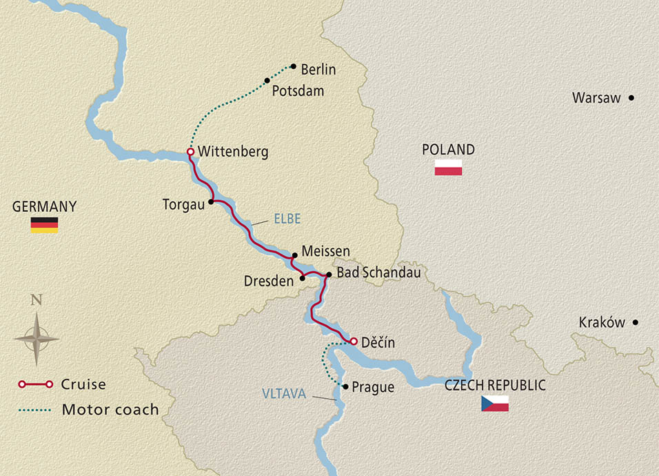 Elegant Elbe 2020 Map