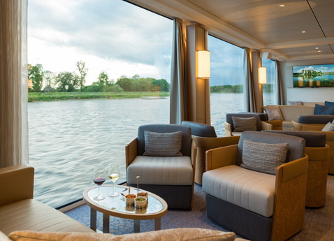 Observation Lounge on Viking Beyla