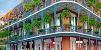 French Quarter building, New Orleans
