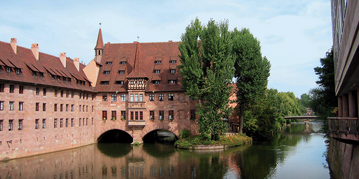 River in Nuremberg