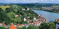 Danube river, Passau Germany
