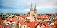 Regensburg Cathedral Rooftops