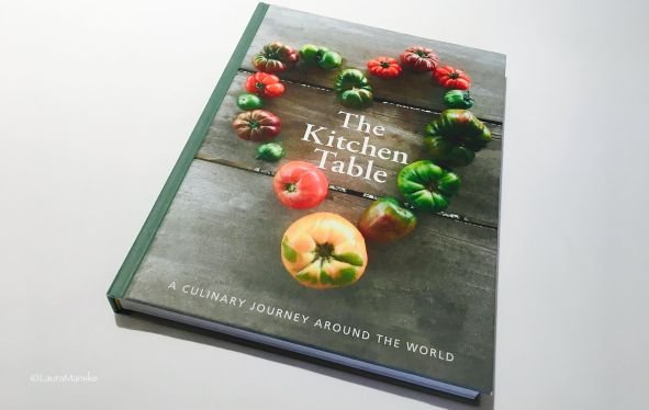 Cookbook titled The Kitchen Table