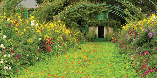 Monet's Gardens in Giverny France