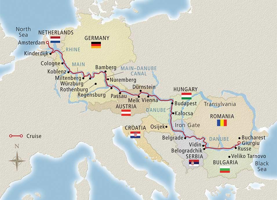 Danube River Cruises 2017  2018  Atlas Travel