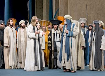 Passion Play Performance, Oberammergau
