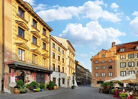 Old Town, Warsaw, Poland
