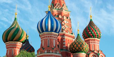 Onion Domes in Moscow.